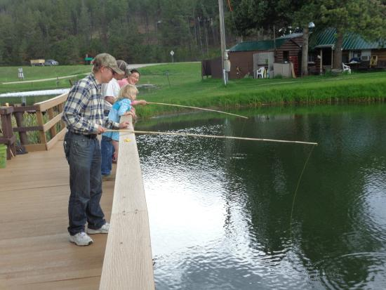 Trout Haven Resort: Fishing