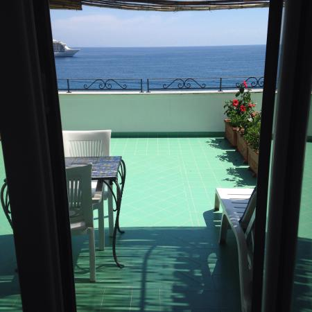 Balcony - Hotel Aurora Photo