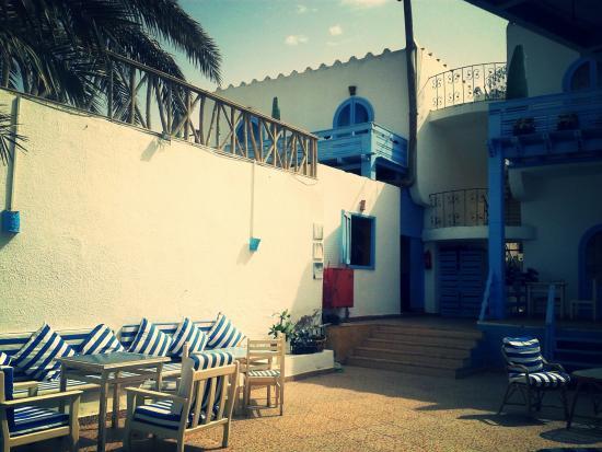 El Primo Hotel Dahab: Blick auf die Zimmer