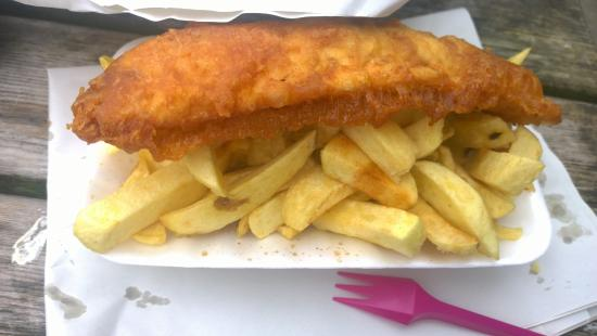 Arnside Chip Shop: Perfect fish & chips