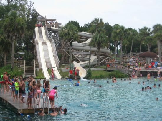 Weeki Wachee Springs Buccaneer Bay Beach And Water Slides