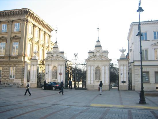 University of Warsaw (Uniwersytet Warszawski): вход в храм науки