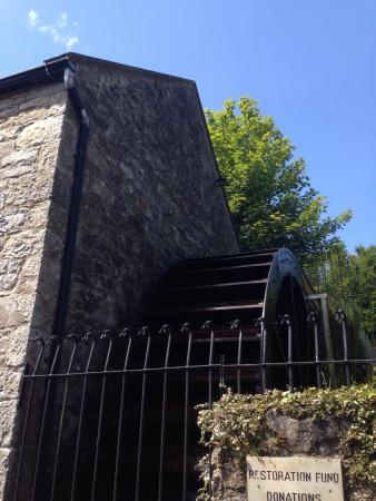The Abbey Mill: Water wheel