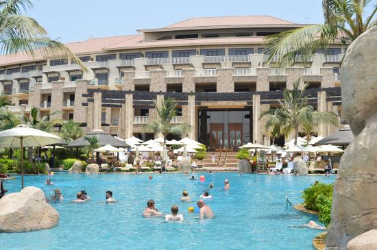 One of the other pools picture of sofitel dubai the palm for Luxury hotels the palm dubai