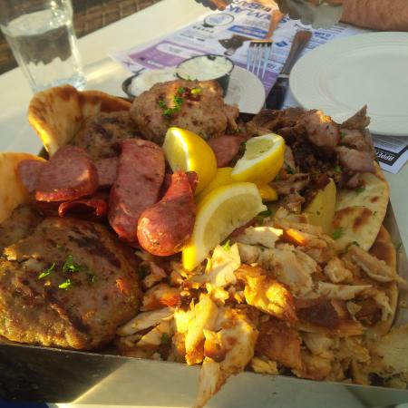 Meat shovel picture of souvlaki bar laval tripadvisor for Ares cuisine centre laval