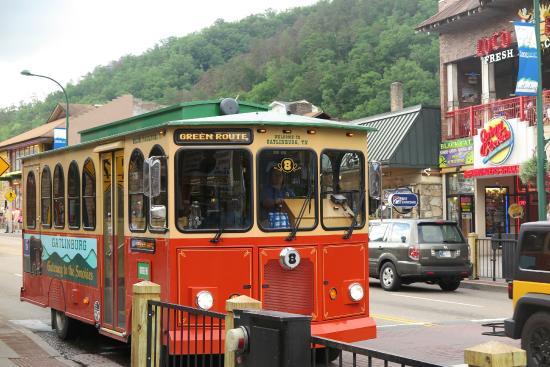 Gatlinburg Trolley: Trolley