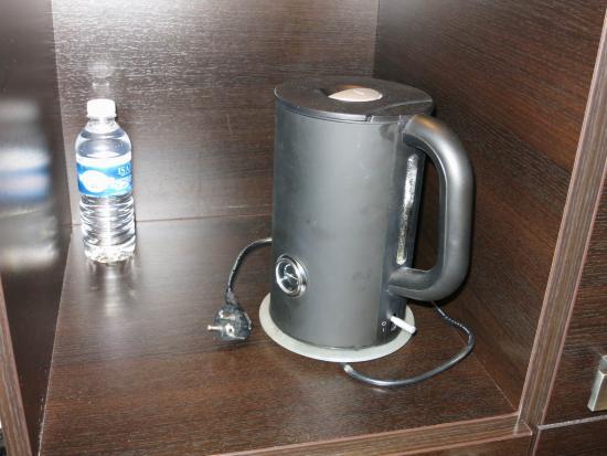 Best Western Europe Hotel: keine Steckdose bei Wasserkocher
