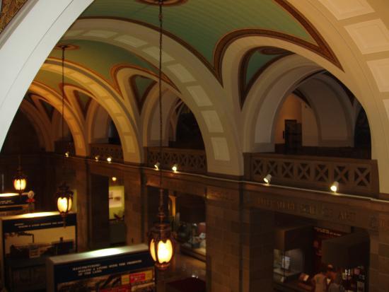 Inside Atrium Area Picture Of Missouri State Capitol