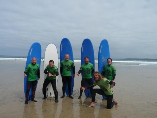Big Green Surf School: May 2015