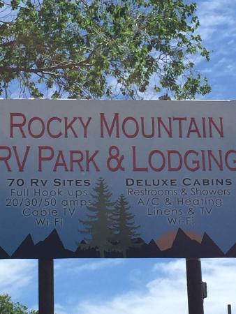 Rocky Mountain Campground Aufnahme