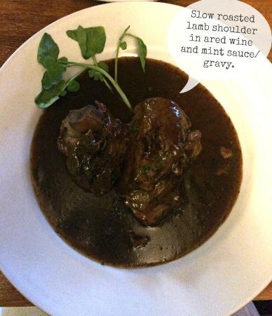 Crondall, UK: Lamb Shoulder