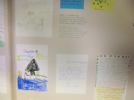 Danish Jewish Museum : Letters from Jewish Children to thank Danish