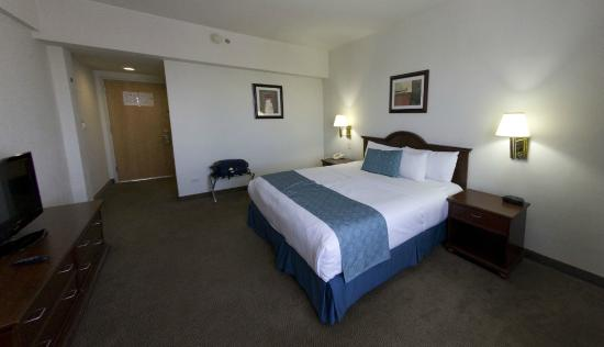 Best Western Plus Los Mochis: La cama súper grande