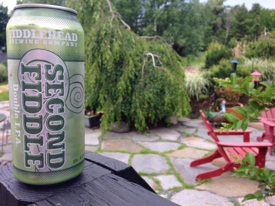 Fiddlehead Brewing Company: Scored some Second Fiddle today on my way thru Shelburne. It is second to none! #loveatfirstsip