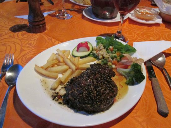 La Estelita : Peppercorn Steak