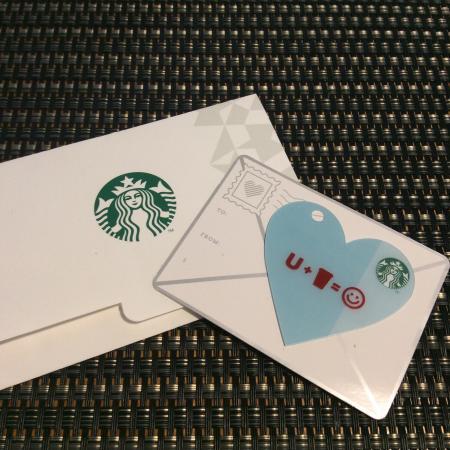 Starbucks Orchard Point: かわいいスタバカード!