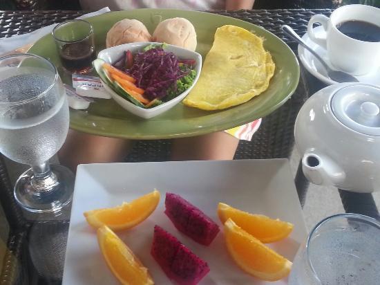 The Theodore Hotel: Yummy food!!!