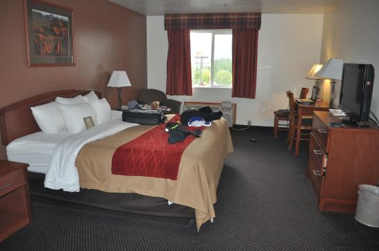 Iron Picture Of Comfort Inn Richfield Richfield Tripadvisor