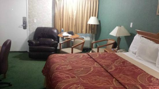 Rodeway Inn Cypress: One King Bed Room