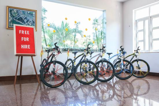 Satisfy Hotel: Free Bike For Rent