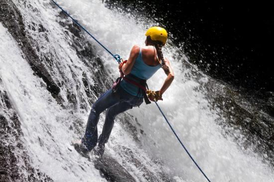 Ocean Ranch Park: Waterfall Rappell