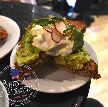 Avocado toast - Picture of Buvette Gastrotheque, New York