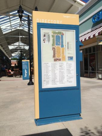 Tanger Outlets: Directory