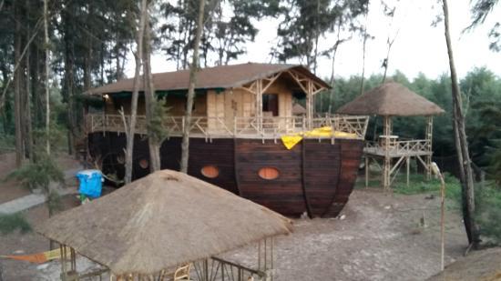 Mtdc Resort Tarkarli Bamboo House First Floor