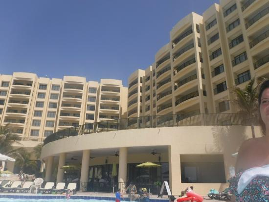 The Royal Sands Resort & Spa All Inclusive: View of resort from Phase1 pools