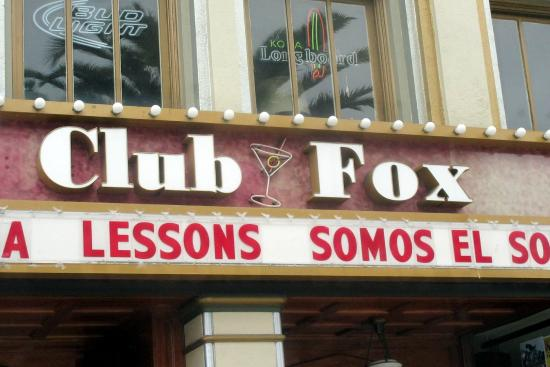 Club Fox, Broadway, Redwood City, Ca