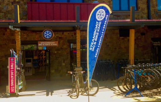 Steamboat Ski & Bike Kare: Mountain store located in One Steamboat Place