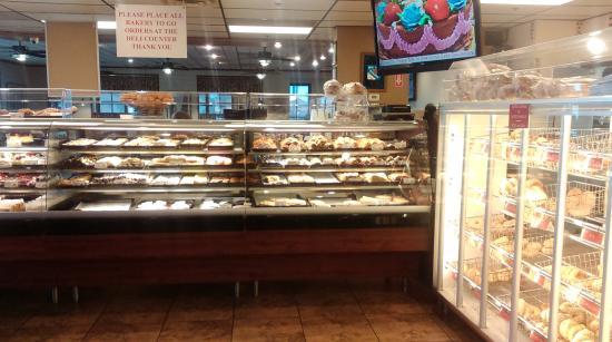 The Bagel Cafe: Just a little bite of each dessert!