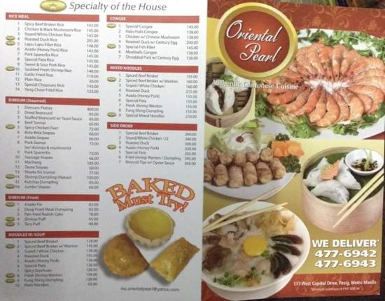 Jade palace restaurant pasig