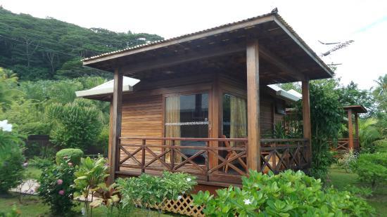 Petit Hotel Familial Fare Vai Nui : Le calme absolu