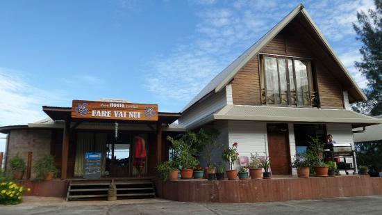 Petit Hotel Familial Fare Vai Nui : L'accueil par dessus tout
