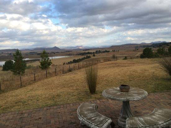 Lavender Hill Country Estate: Winter Views from honeymoon suite