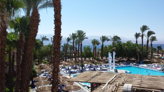 U Coral Beach Club Eilat: Third floor view