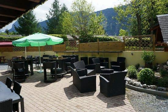 terrasse lounge picture of cote terrasse le bourg d 39 oisans tripadvisor. Black Bedroom Furniture Sets. Home Design Ideas