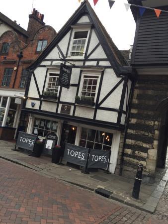 Topes Restaurant Rochester Menu