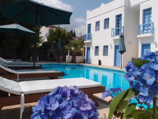 Panorama Hotel Bodrum : havuz başı