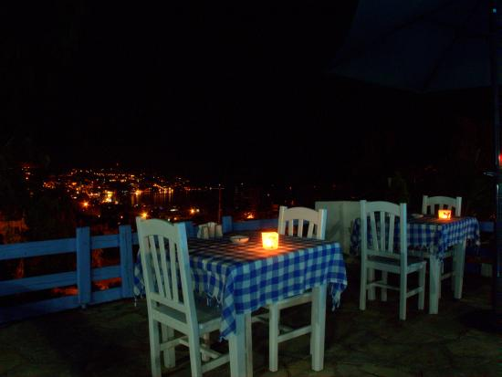 Panorama Hotel Bodrum : gece manzara