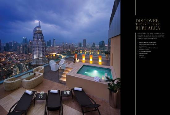 La suite attico picture of damac maison cour jardin for Maison jardin