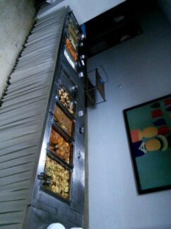 Hotel Plaza: ужин