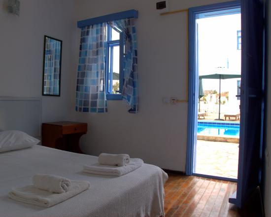 Panorama Hotel Bodrum : çift kişilik oda