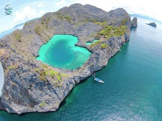 Mergui Archipelago : panorama view