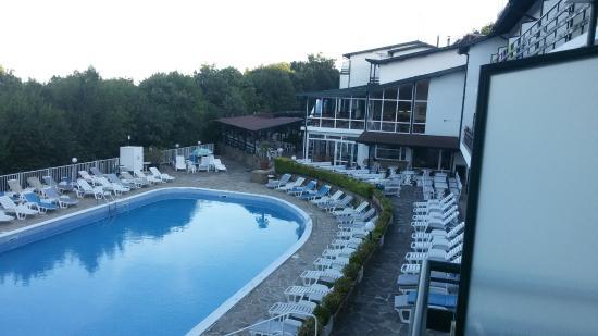 Kini Park Hotel: Вид с балкона номера 219