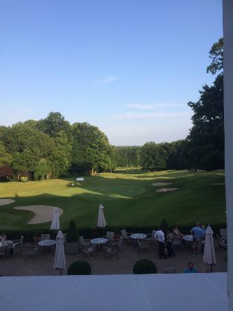 Golf Château de la Tournette: arrivée club house