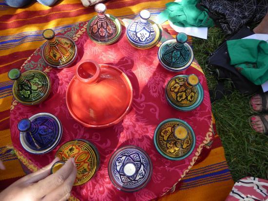 Lots of wonderful spices picture of atelier de cuisine for Atelier cuisine marrakech
