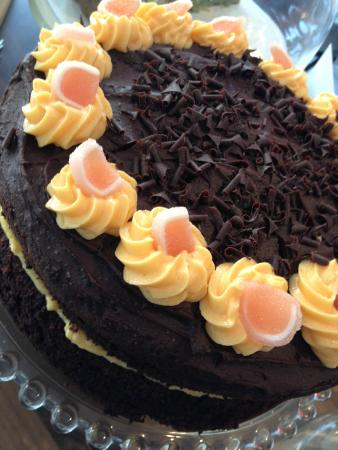 The Chatty Couch: Chocolate Orange Cake