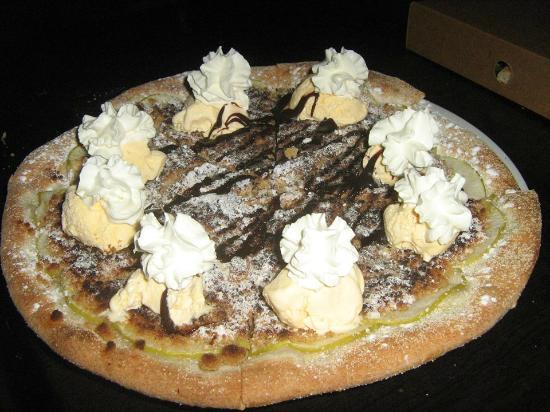 Art of Pizza: Granny smith apple pizza